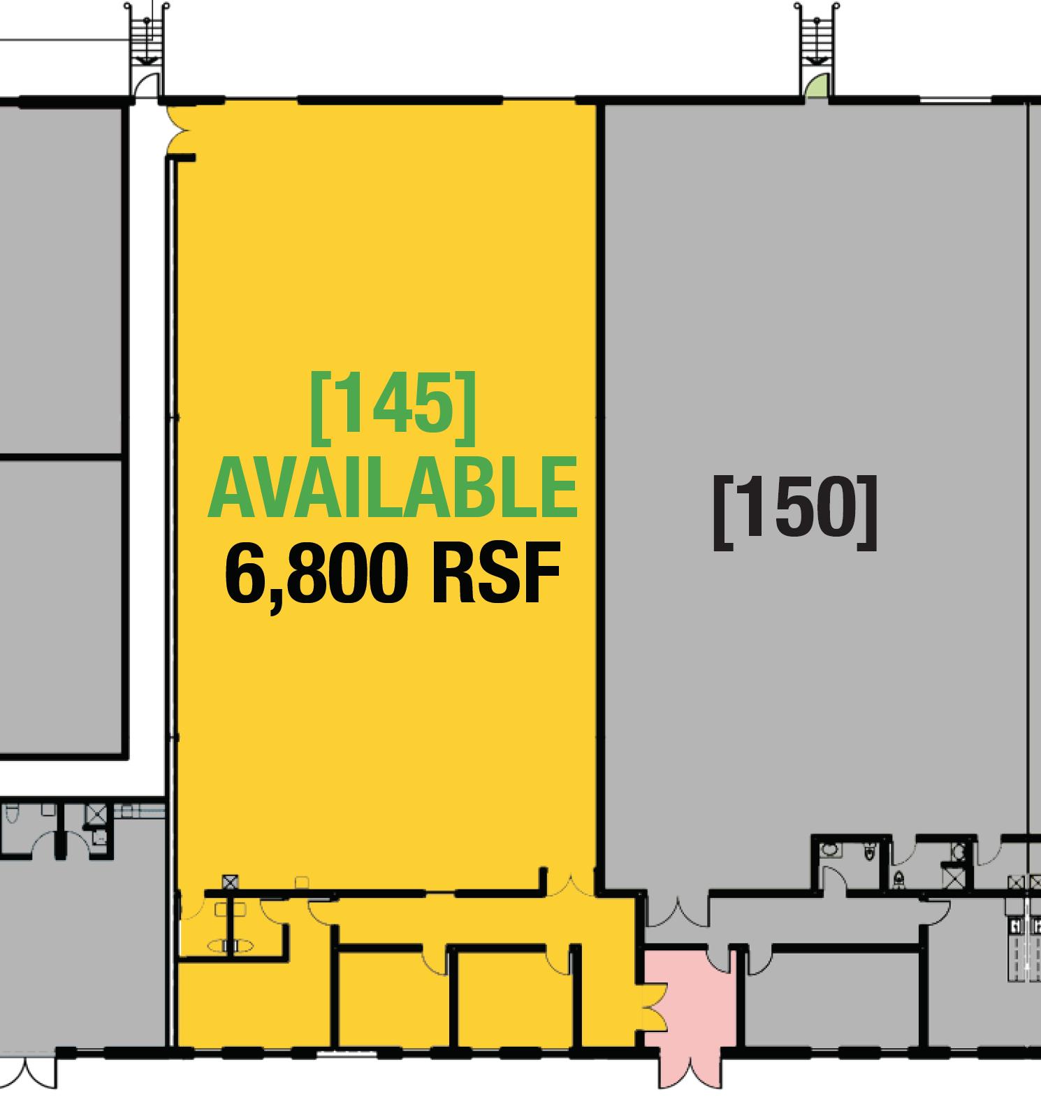 SUITE 145 - 6,800 RSF