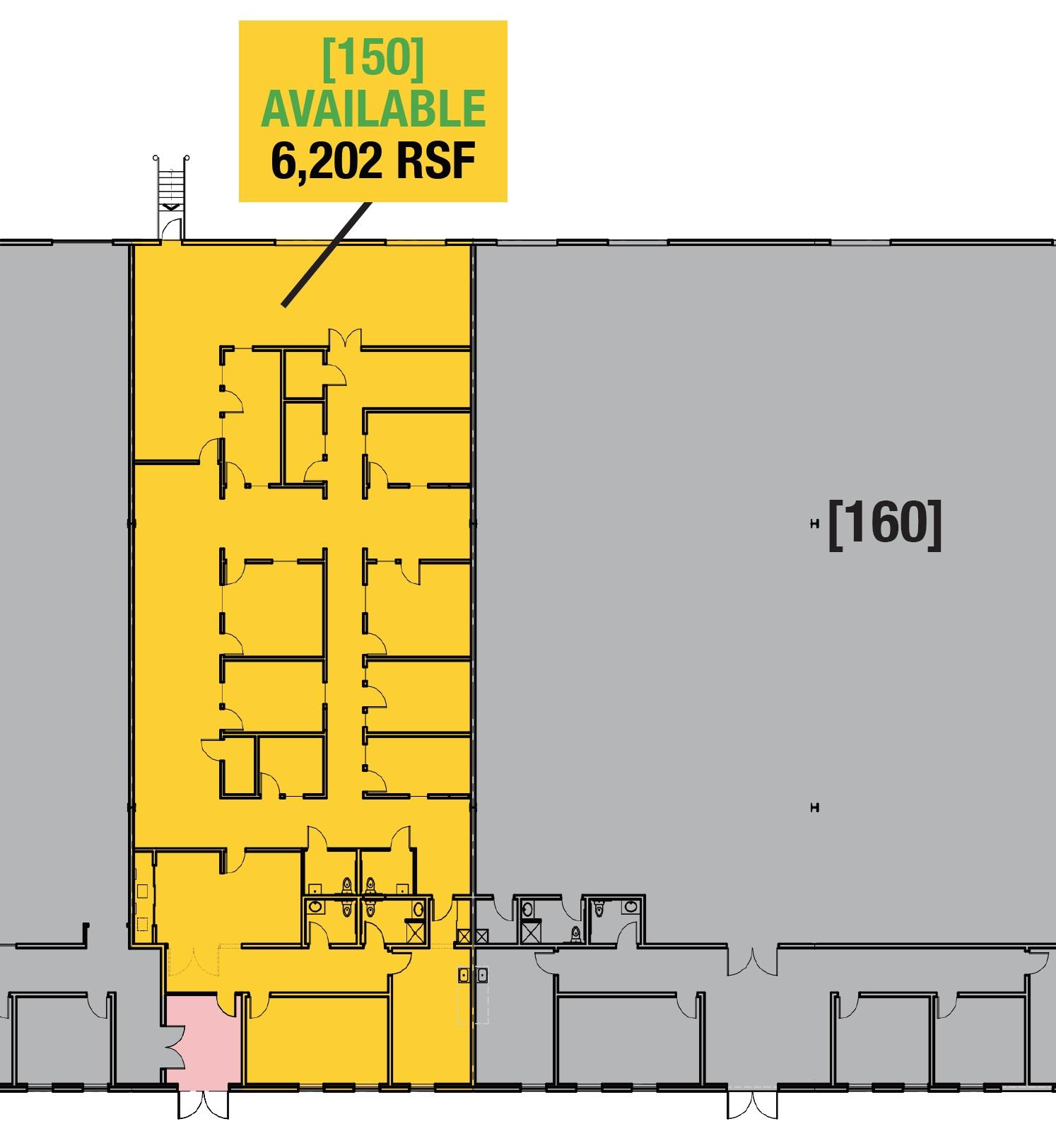 SUITE 150 - 6,202 RSF